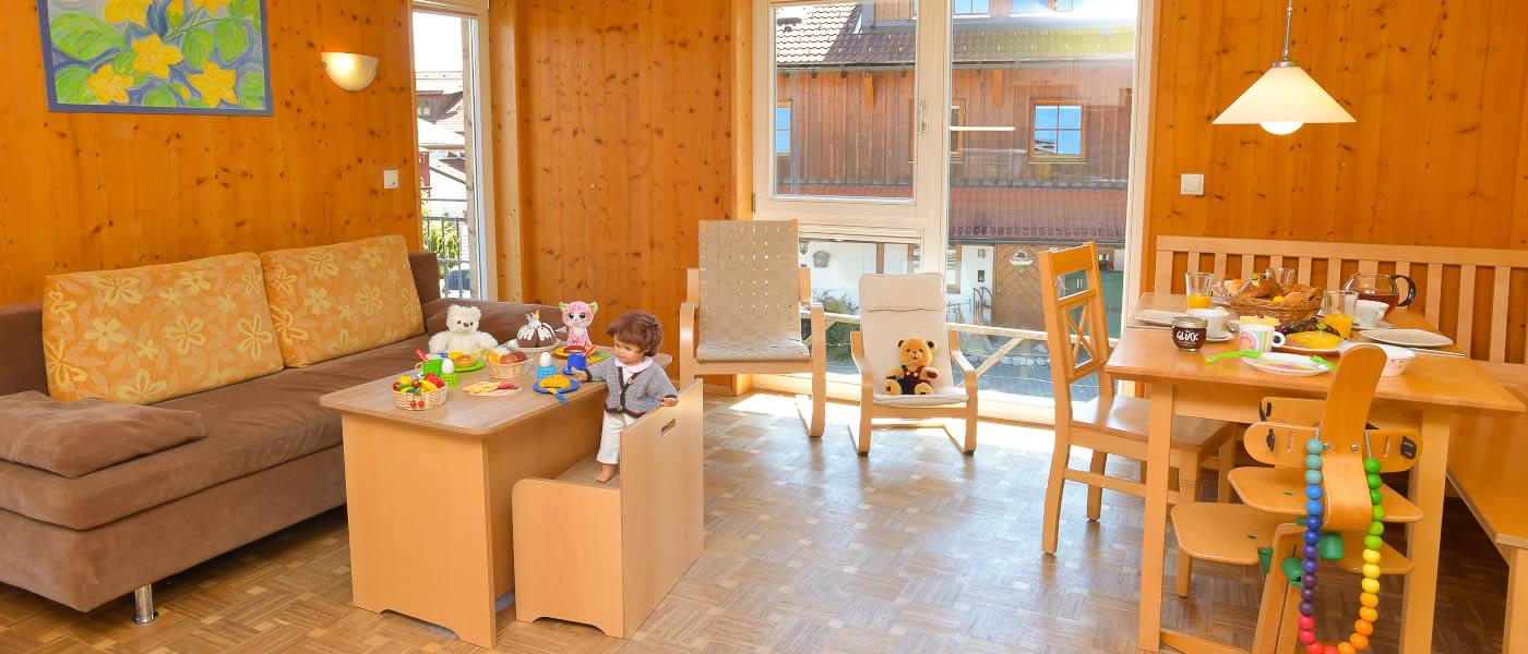Ferienwohnung Sonnenperle - mit kindgerechter Ausstattung